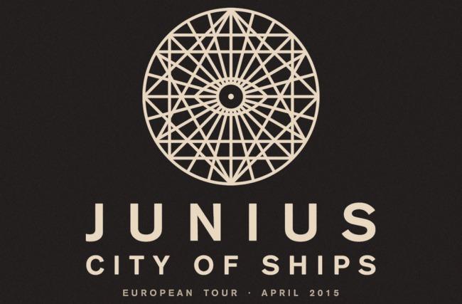 PiN präsentiert: Junius & City of Ships Europa Tour 2015