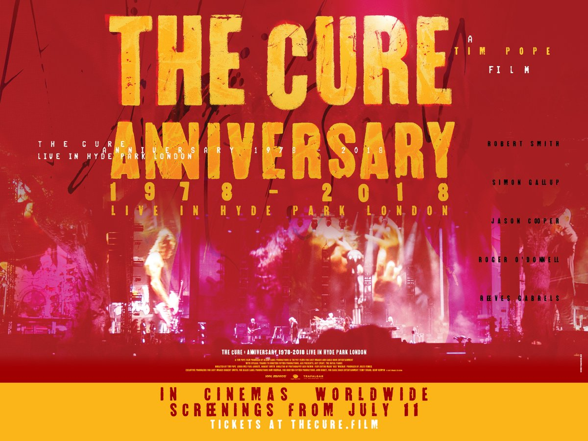 The-Cure-Anniversary-1978-2018-film