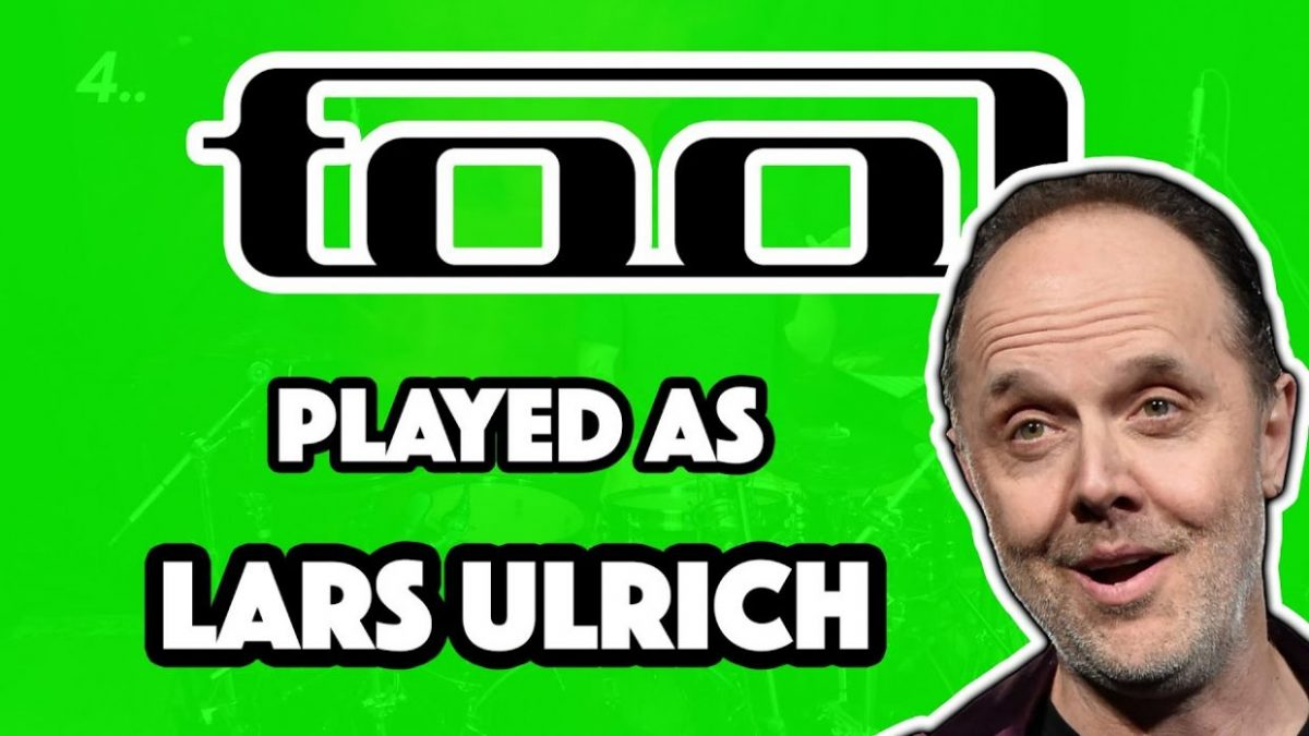 SCHISM but it's played like LARS ULRICH