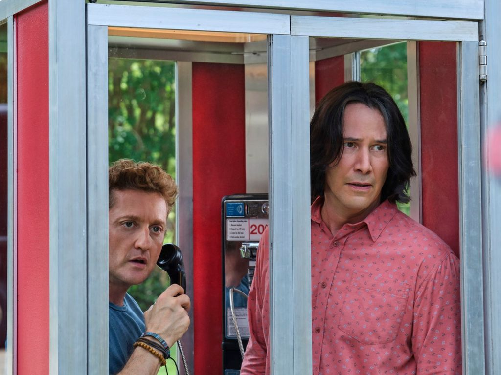 "Keanu Reeves (r.) und Alex Winter in ""Bill & Ted Face the Music"" Foto: imago images/ZUMA Press"