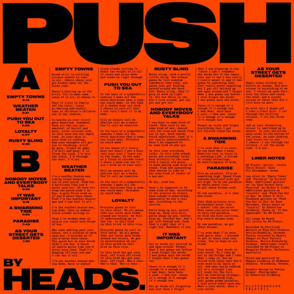 Heads. – Push