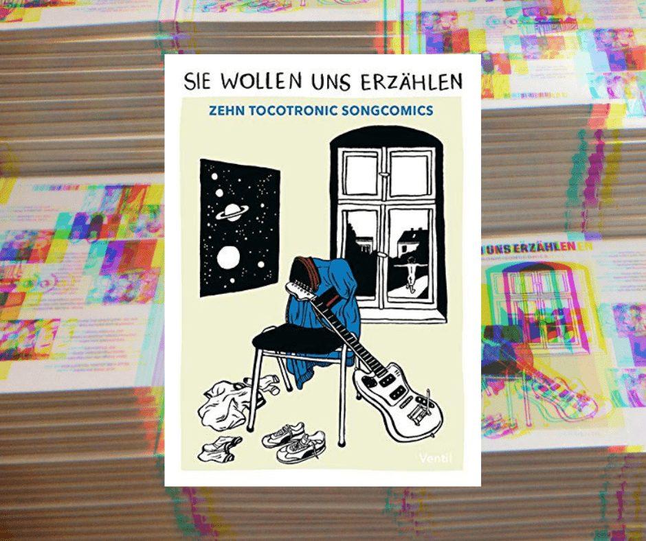 Zehn TOCOTRONIC-Songcomics