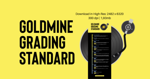 Goldmine Grading Standard Infografik © Vinyl Galore by prettyinnoise.de