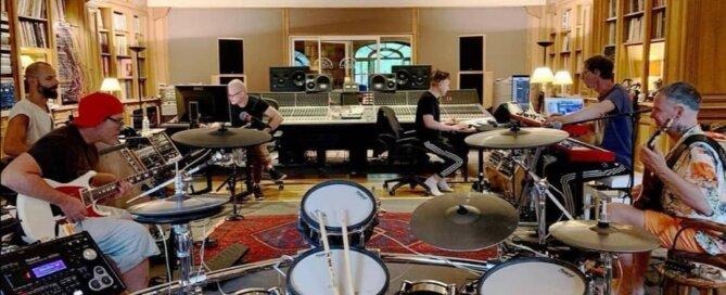 Rammstein im Studio   (c) christophschneider_official